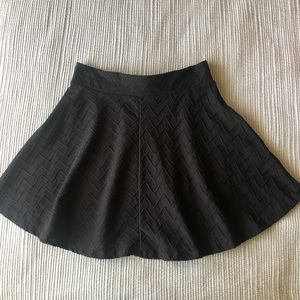 Charlotte Russe Skirts - Black Skater Skirt